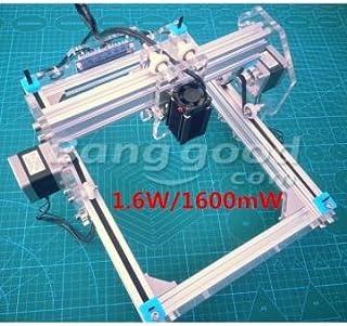 1.6w escritorio kits de ensamblaje foto máquina grabadora láser bricolaje violeta grabado impresora cnc
