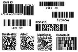 Barcode OCX Modul ActiveX Modul WIN dt.Vollversion (Product Keycard ohne Datenträger)