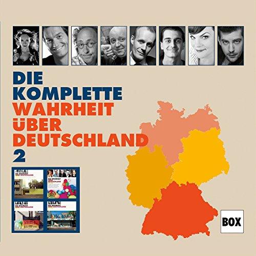 Page de couverture de Die komplette Wahrheit über Deutschland 2