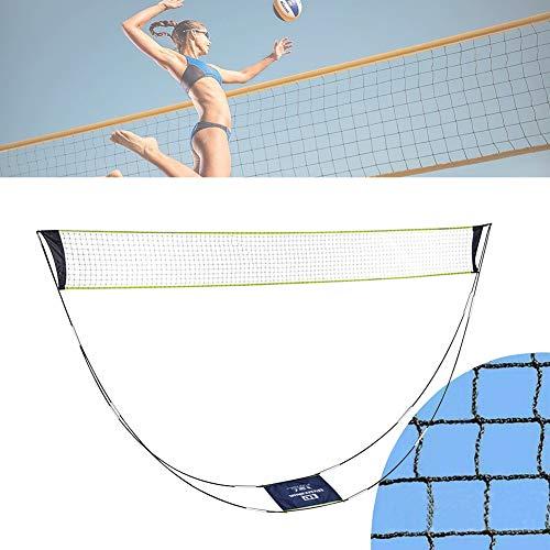 Surmounty Badminton Netz, Tragbares Badmintonnetz Set, Garten-Badmintonnetz mit Stand-Tragetasche, Tennisnetz Federballnetz für Outdoor Indoor Garden Strand Sportarten