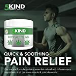 Hemp Joint & Muscle Active Relief Gel- High Strength Hemp Oil Formula Rich in Natural Extracts by 5kind. Soothe Feet… 6