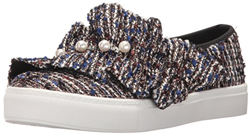 Dirty Laundry by Chinese Laundry Women's Jean Genie Fashion Sneaker, Blue/Multi Tweed, 9.5 M US