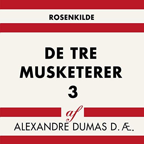 De tre musketerer 3 audiobook cover art