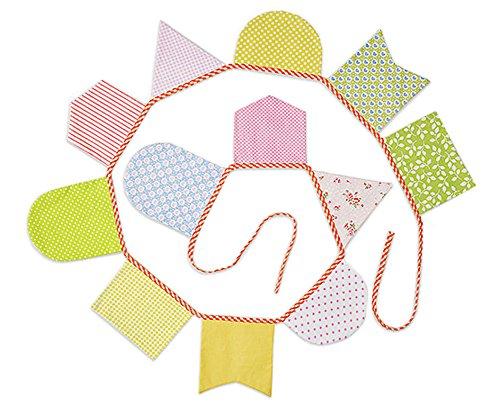 Baumwolltuch-Wimpel-Party Banner Dreieckige Fahnen Banner Kinder-Feiertag Hang