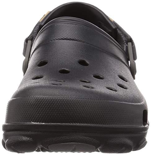 Crocs Unisex Clog, Black, 11 US Men Nevada