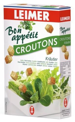 Leimer Croutons Kräuter, 10er Pack (10 x 100 g Packung)