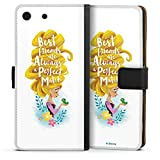 Étui Compatible avec Sony Xperia M5 Étui Folio Étui magnétique Princesses Disney BFF Raiponce