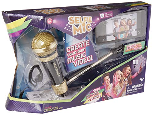 Selfie Stick Microphone Set