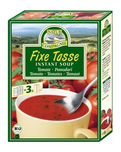 Natur Compagnie - Bio Fixe Tasse Instant Soup Tomatensuppe - 60g