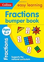 Fractions Bumper Book Ages 5-7: Prepare for School with Easy Home Learning (Collins Easy Learning KS1)