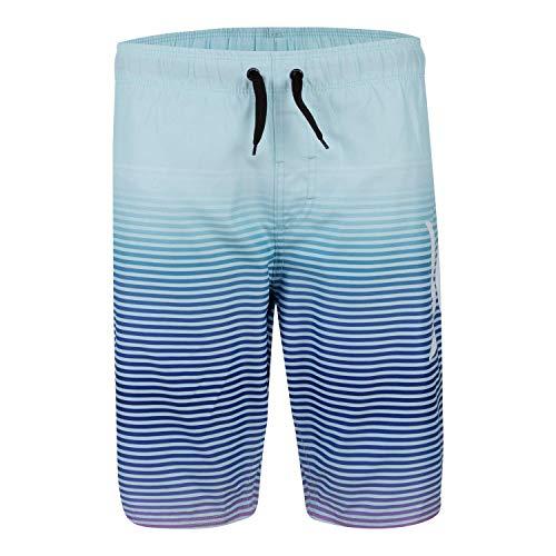 Hurley Boys' Big Pull On Board Shorts, Topaz/Purple, M