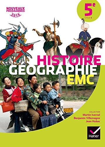 Histoire-Géographie EMC 5e