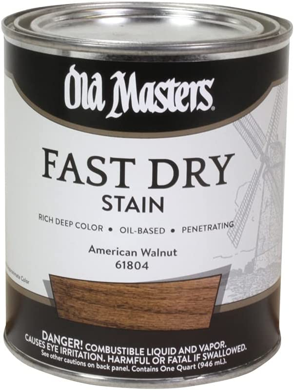 OLD MASTERS MASTER High order PRODUCTS 61804 WALNUT QT OFFicial AMER STAIN