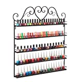 DAZONE Nail Polish Wall Rack 5-Layer Organizer Holds 100 Bottles Nail...