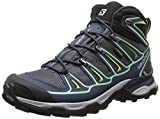 Salomon L37152400, Zapatillas de Atletismo para Mujer, Azul (Grey Denim/Deep Blue/Lucite Green), 41 1/3 EU