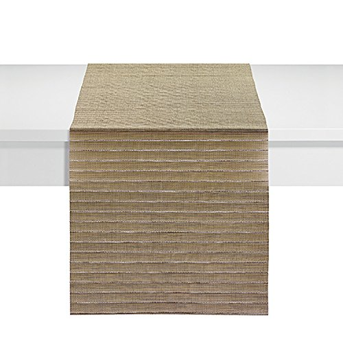 Winkler - Chemin de table - Chemin de table décoration - Chemin de table anti tache - 45 x 150-75% PVC 25% Polyester - Manoka