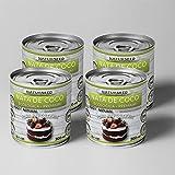 Naturseed - Nata de coco ecológica Premium para cocinar, sin lactosa. Nata Vegetal (4X200ML)