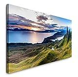 Paul Sinus Art GmbH Schottland Panorama 120x 50cm Panorama