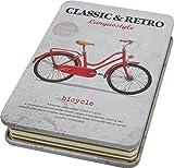 Blech-Notizbuch Fahrrad, A6, 128 Blätter