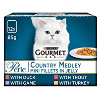 Served in 85 g pouches to keep every meal fresh and convenient A tempting variety of flavours to tempt your cat's taste buds Served in 85g pouches to keep every meal fresh and convenient Packed with essential vitamins and minerals to keep your adult ...