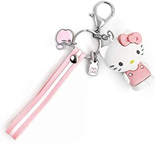 EOGAIL Cartoon Kuromi My Melody Keychain Accessories Doll Pendant Anime Keychain Cute Doll Keyring Ornaments Small Gift (K...