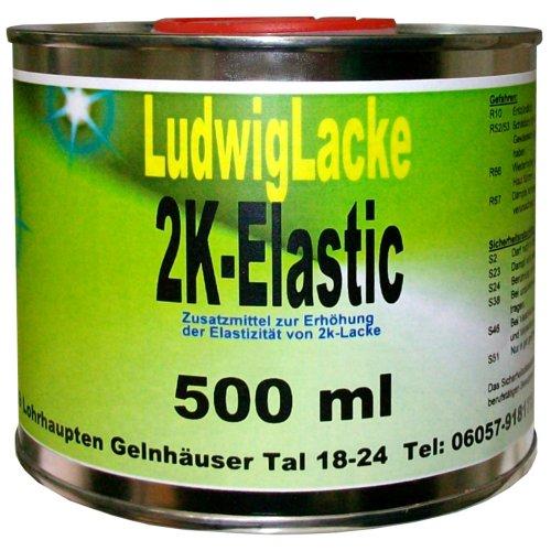 500 ml Elastifizierer für Autolack Plastic Teile 2K Elastic