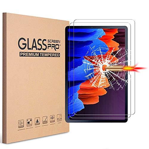 Galaxy Tab A7 10.4 T500 Screen protector, KIQ Tempered Glass Anti-Scratch Self-Adhere Bubble-Free For Samsung Galaxy Tab A7 10.4 inch 2020 SM-T500 SM-T505 SM-T507 [2 Pack]