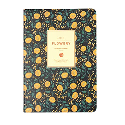 FACHAI Cuaderno A5, planificador de visualización semanal, cuaderno de bocetos diario, agenda mensual y semanal con tapa dura, cuaderno grueso, 15,7 x 17,7 cm