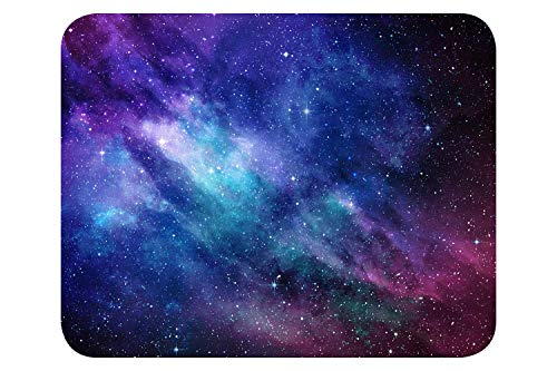 Mauspad Universum-Look I 24 x 19 cm I Mousepad in Standard-Größe, rutschfest schlicht modern I Weltall Sterne I dv_673