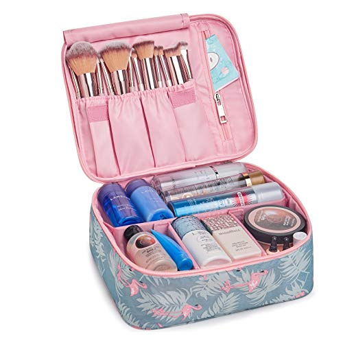 Travel Makeup Bag Large Cosmetic Bag Makeup Case Organizer for Women and Girls...