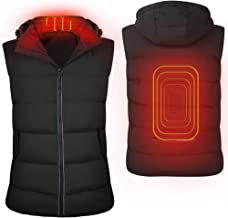AVOD Heated Vest for Men & Women Electric USB Charging Heating Jacket Winter Warm Washable for Outdoor Hunting Camping Hiking