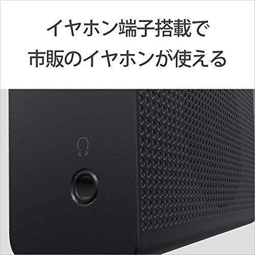 ソニーハンディーポータブルラジオICF-P36:FM/AM/ワイドFM対応横置き型ブラックICF-P36B