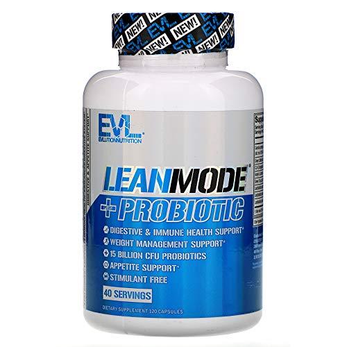 EVLution Nutrition LeanMode + Probiotic, 120 Caps, 155 g