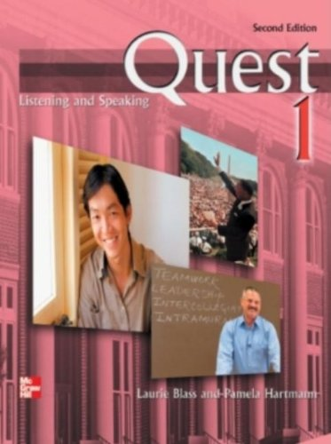 Quest Listening and Speaking 1 Student Book, 2nd Edition