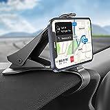 Phone Holder for Car, Hzrfun Cell Phone Holder for Car Dashboard Clip Non-Slip...