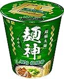 明星 麺神カップ 極旨塩豚骨 94g×12個