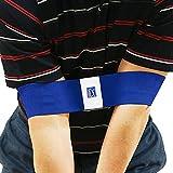PGA Tour Entrenador de Swing con DVD de Entrenamiento, Unisex, Azul-Azul