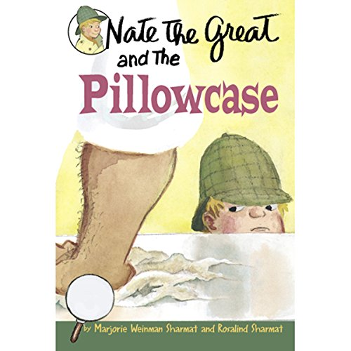Nate the Great and the Pillowcase audiobook cover art
