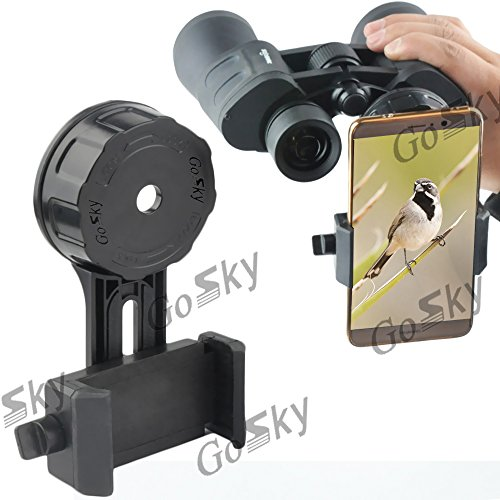 Gosky Binocular Spotting Scope Smartphone Adapter Quick Alignment Version Cell Phone Digiscoping Mount - Capturing Beauty and Sharing it with Your Friends