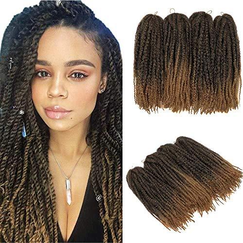 YMHPRIDE Marley Twist Braid Hair Afro Kinky Curly Twist Braiding Hair...
