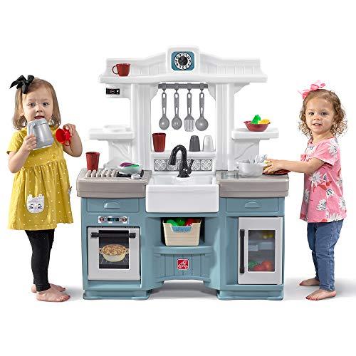 Step2 Timeless Trends Kitchen | Kids Play Kitchen, Blue