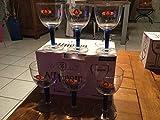 Affligem 6Stück Glas Hat mit Bierflasche von Noel NEU