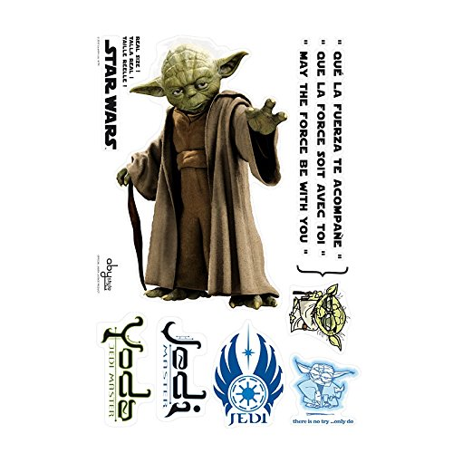 ABYstyle - STAR WARS - Stickers - Scale 1 – YODA