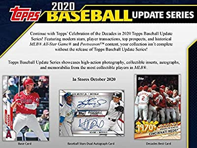2020 Topps Update Blaster Box (7 Packs/14 Cards: 1 Coin Card)