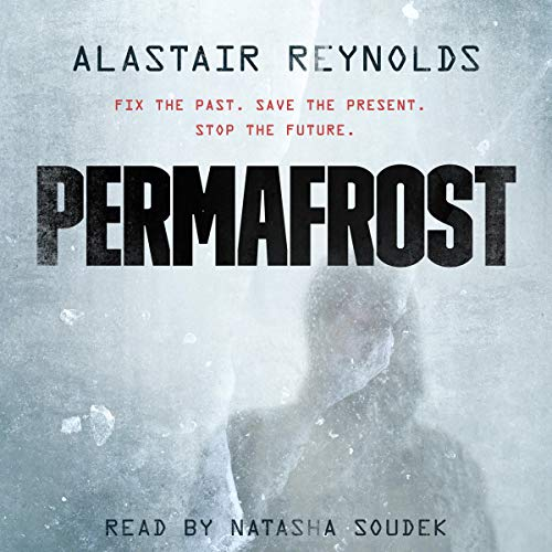 Permafrost audiobook cover art