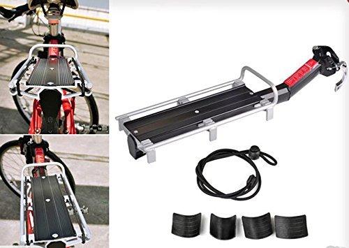 Snelle release fiets gemonteerd bagage stoel post achter Pannier drager Rack Fender
