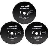 Mini scie circulaire à main Lot de 3Scie bois FEIN ø85x 10x 1,5mm Convient pour Aldi Duro/Lidl/Norma