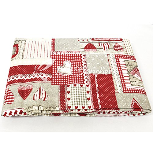R.P. Telo Arredo Copritutto Isabelle Country Chic - Made in...