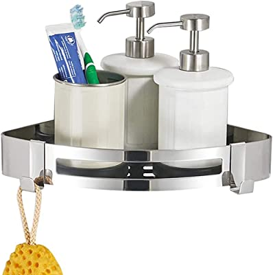 ToiletTree Products Rustproof Aluminum Shower and Bath Caddy with Fogless Shower