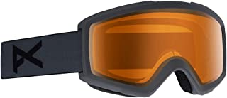 Anon Helix 2.0 Snow Goggles Stealth Grey with Amber Lens
